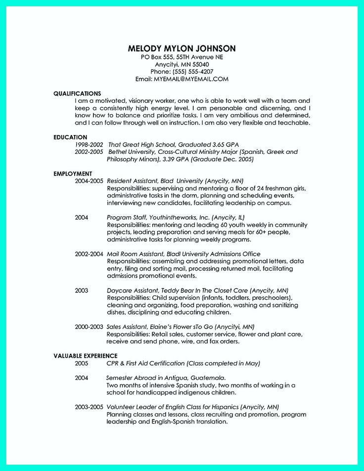 cool Special Guides for Those Really Desire Best Business School - school bus driver resume sample