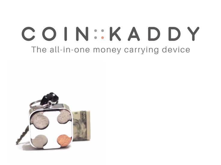 The COIN KADDY: All in one money carrying device by Joel Gavin Glazer — Kickstarter