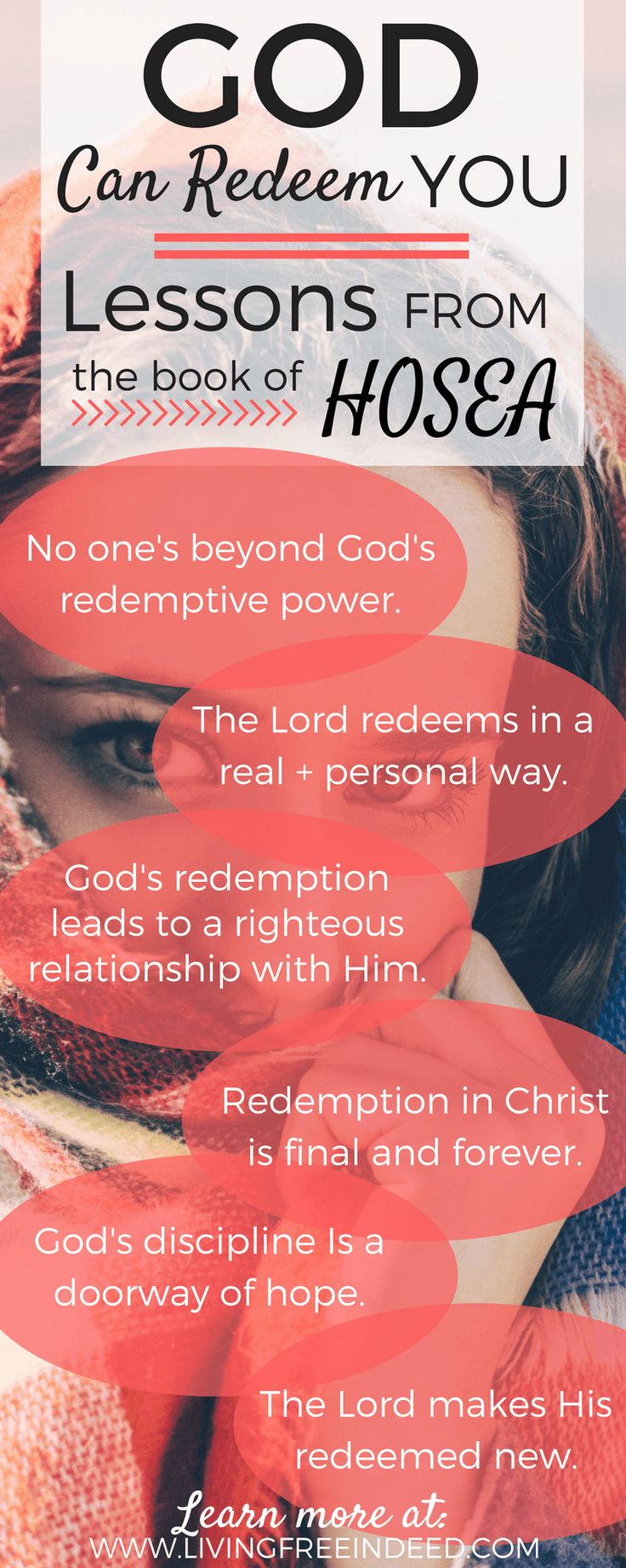 God dynamically displays redemption in Hosea. Take a glimpse at the book's beautiful themes, and read it on your own with new eyes! | Themes in the Bible | Biblical truths and encouragement | Themes in Hosea | Redeeming Love | Gospel in the Old Testament