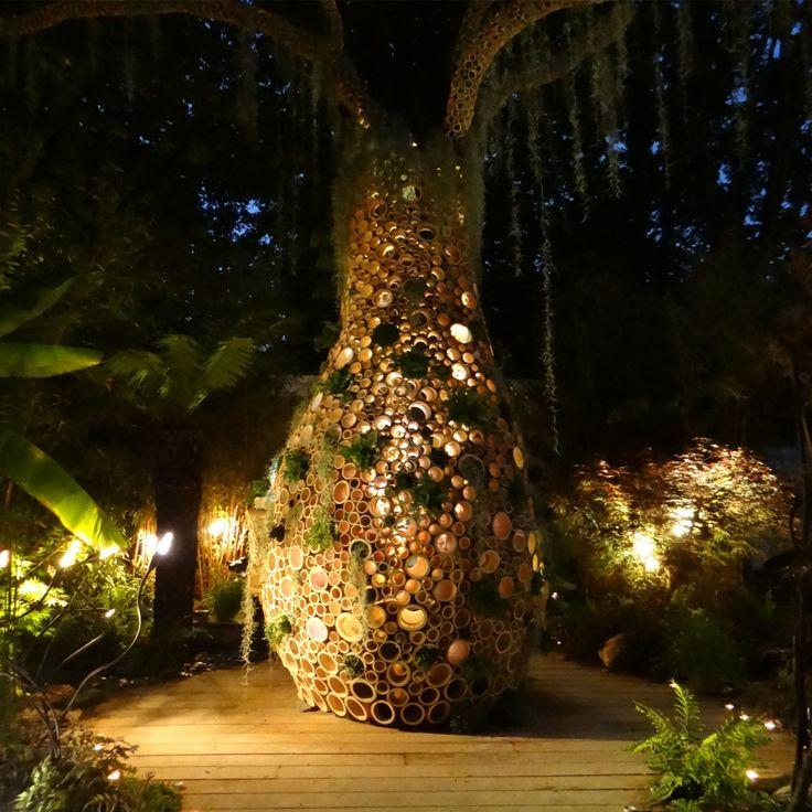 Baobab Garden into the night