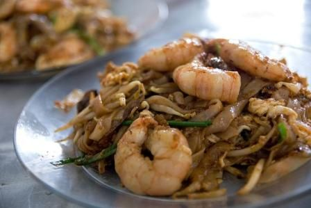 "Char Kway Teow Malaysia is famous for its ""hawker food"" culture; food sold at roadside stalls at night markets. Char kway teow, a Chinese-influenced dish of stir fried flat noodles and seafood, tops the list of hawker food must-haves."