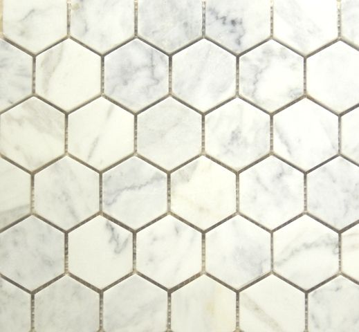 i would like to replace our shitty bathroom floors with classic honeycomb tile...