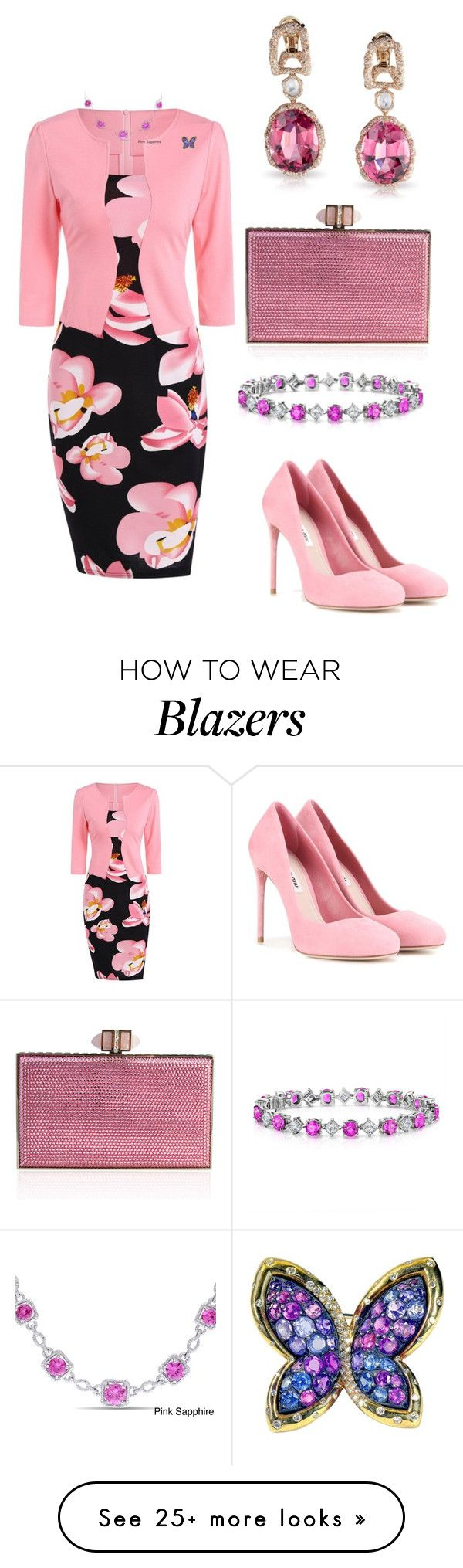 """""""Untitled #709"""" by dawn294210 on Polyvore featuring Miu Miu, Judith Leiber and Miadora"""