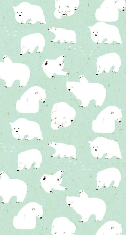 momoro illustration polar bear