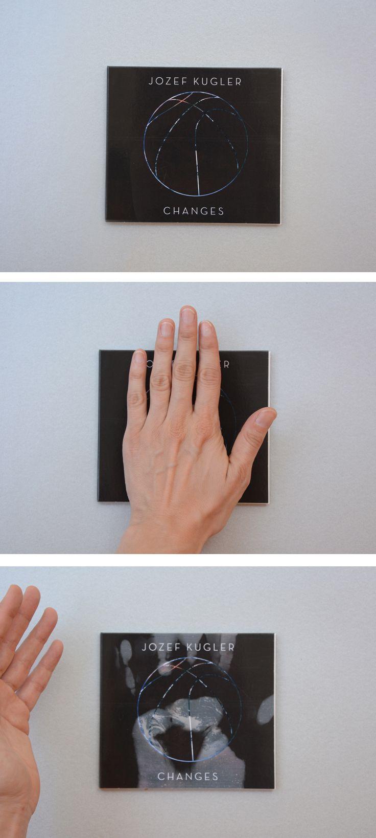 """CD-Cover  Jozef Kugler """"Changes"""" Visuelle Konzeption, Illustration & Gestaltung Druck 4c mit Thermolack"""