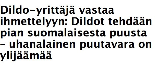 In Finnish Media: Uusi Suomi