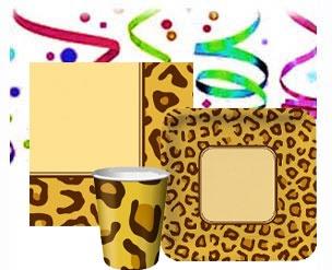 cheetah party supplies