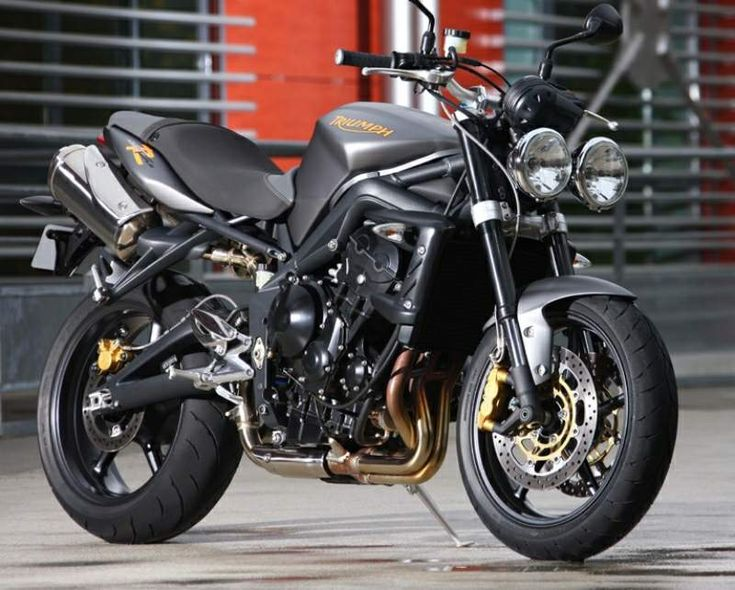 The Triumph Street Triple has good styling and excellent performance, and is apparently a common upgrade for SV riders.