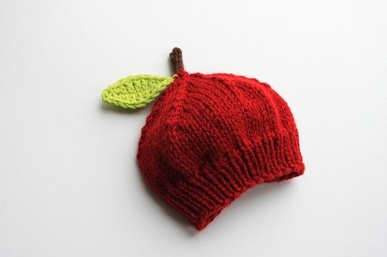 FREE PATTERN Ravelry: Lil' Apple Hat pattern by Iryna Boehland..