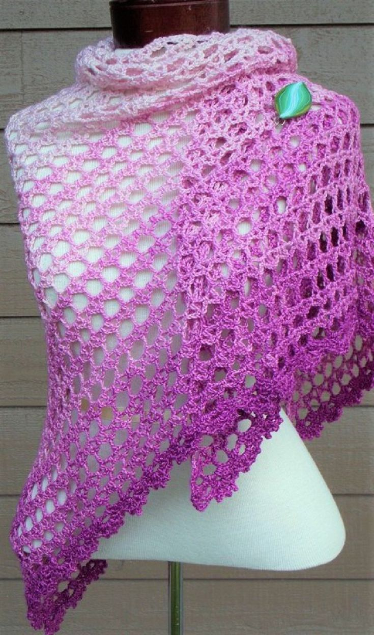14 New Crochet Shawl Patterns