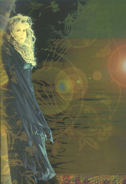 STEVIE NICKS. HER MUSIC: Tour Archive 2001 | Trouble in Shangri-La Tourbook