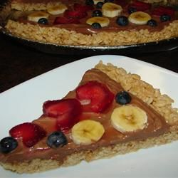 It seems that if you could get good quality rice cereal that was not cross contaminated by wheat this would be gluten free.  Am I correct? Yummy Fruit Pizza Allrecipes.com