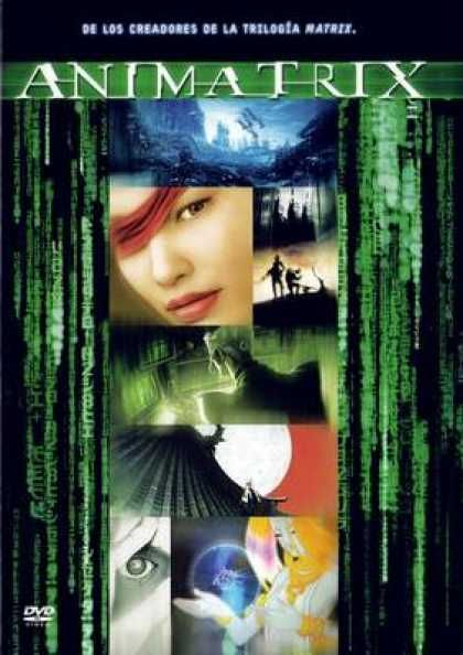 Spanish DVDs - The Animatrix