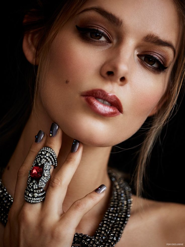 Danielle Knudson wears Necklace & Rings  Shay Jewelry