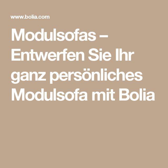 Modulsofas – Entwerfen Sie Ihr ganz persönliches Modulsofa mit Bolia