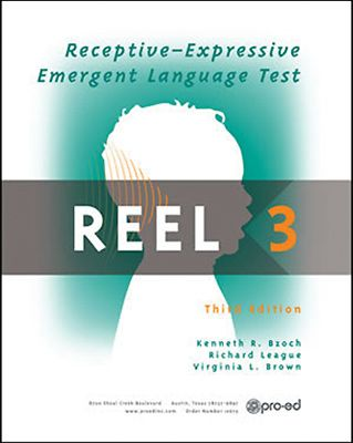 REEL-3 | Receptive-Expressive Emergent Language Test-Third Edition A Method of Assessing the Language Skills of Infants | Product Info