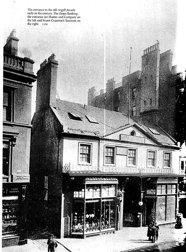 The old Argyll Arcade. Early 1900's.