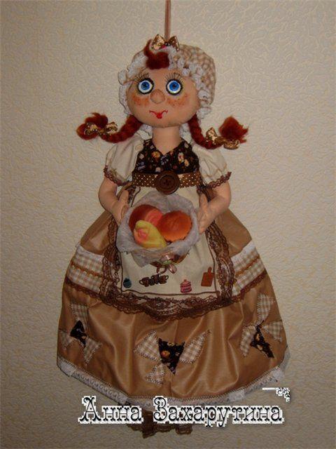 МК кукла-пакетница. Обсуждение на LiveInternet - Российский Сервис Онлайн-Дневников