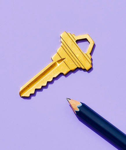 Pencil Lead as Key Lubricant | Rub the tip of a pencil on a stubborn key's teeth. The graphite greases the metal, allowing the key to turn more easily. This trick works well on difficult zippers, too.