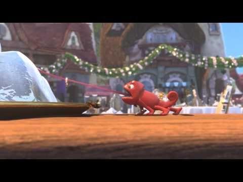 En este corto de animación infantil los niños se reirán y disfrutarán al máximo al ver cómo el caballo y el camaleón destruyen casi todo el pueblo al perder...
