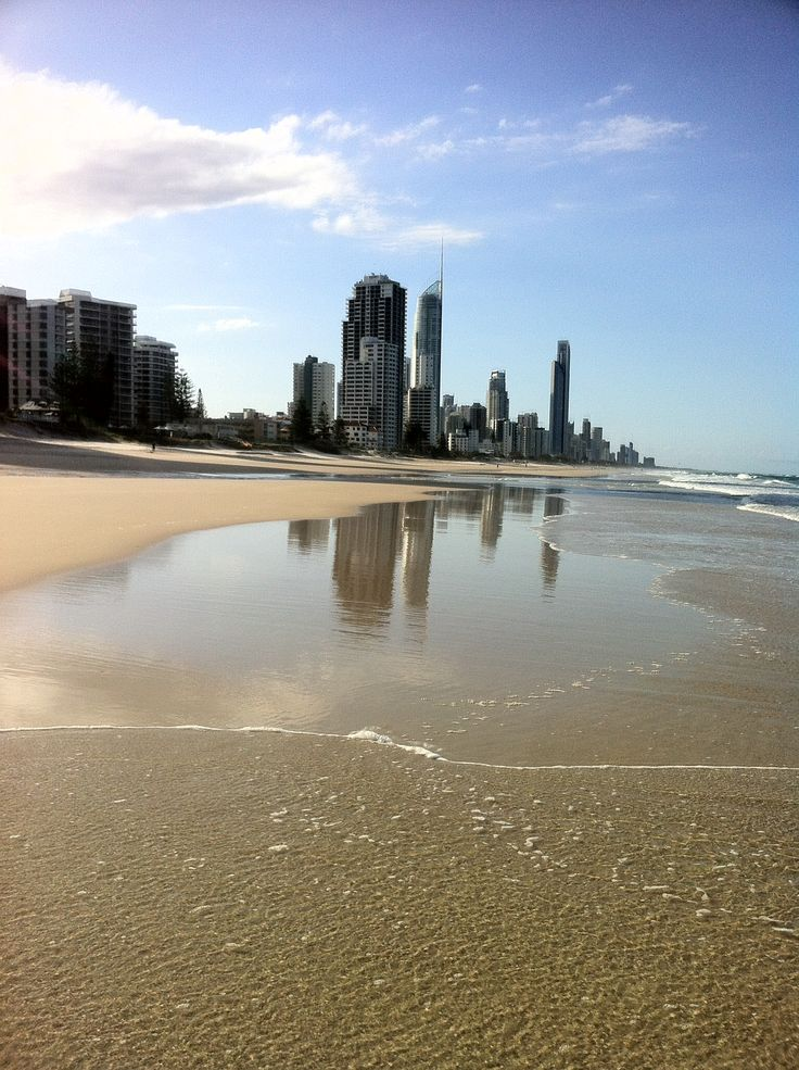 Surfer Paradise beach.