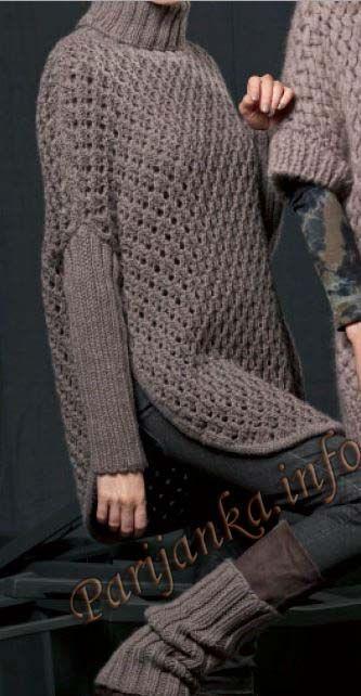 Пуловер и гетры (ж) 47*200 FAM №3881