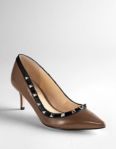 IVANKA TRUMP Lucie Leather Pumps-$149