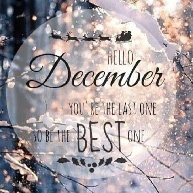 Картинки декабрь с надписью