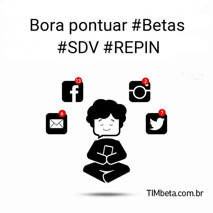 Bora pontuar #Betas #Tim_Beta #SDV #REPIN segue no Twitter @Max_up_jf…