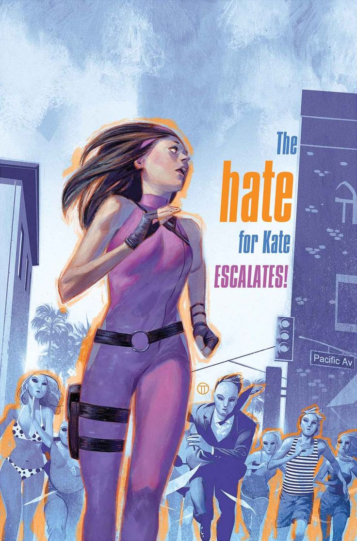 Hawkeye #3 - Cover by Julian Totino Tedesco