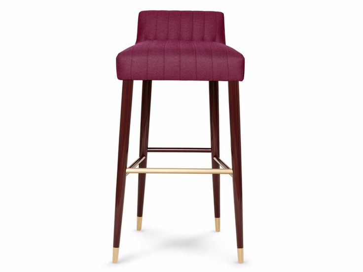 high fabric barstool with footrest charlotte munna