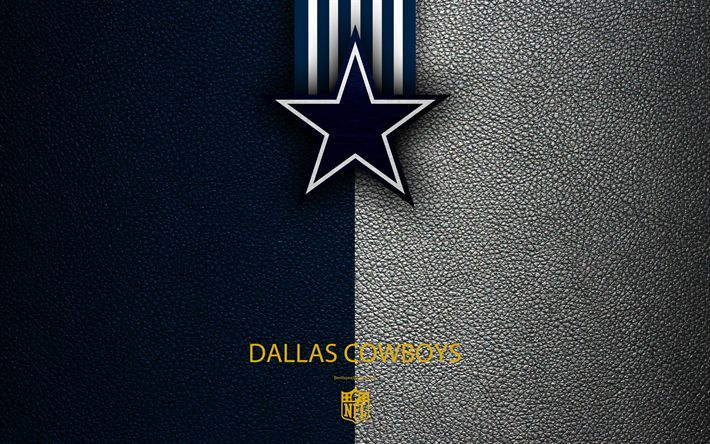 Download Wallpapers Dallas Cowboys 4k American Football Logo Emblem Arlingt Dallas Cowboys Dallas Nfl Usa