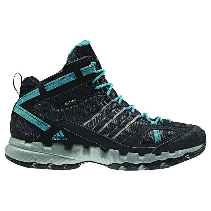 Adidas Women's AX 1 Mid GTX Hiking Boots. These versatile and lightweight hiking boots are perfect for long day hikes and short overnight trips.
