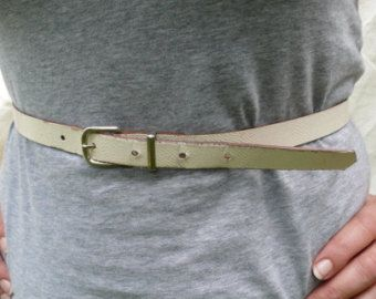 Leather Cream Belt , Vintage size 16, womens fashion accessories, french lady gift,  vintage mothers day present, France fashion, paris girl
