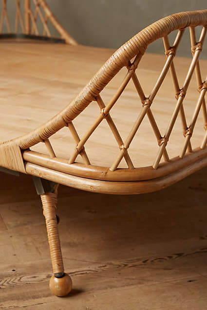 Curved Rattan Bed Home Furniture Furniture And Beds