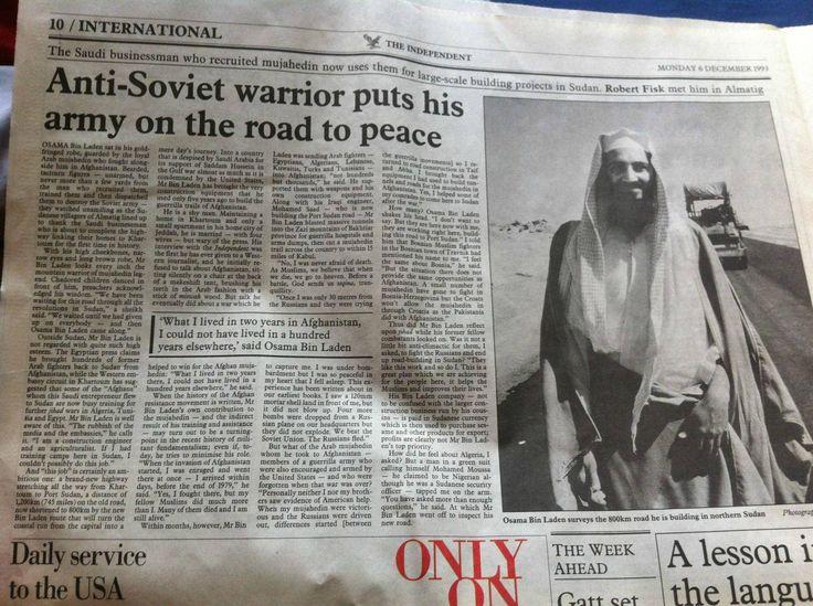 Bin Laden the businessman