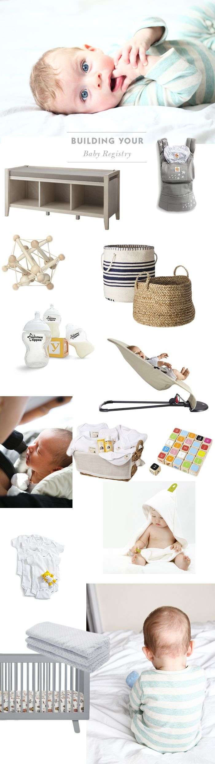 Build the perfect baby registry with this helpful list of baby must-haves.