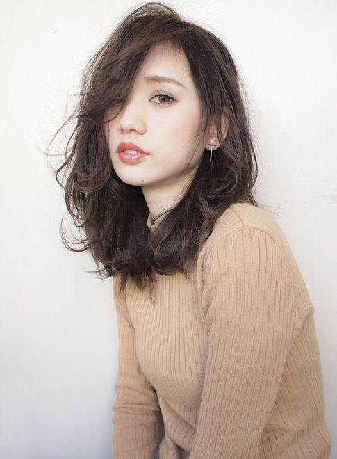 【ミディアム】大人ヘア サイドパートでラフアンドエレ/AFLOAT JAPANの髪型・ヘアスタイル・ヘアカタログ|2016冬春