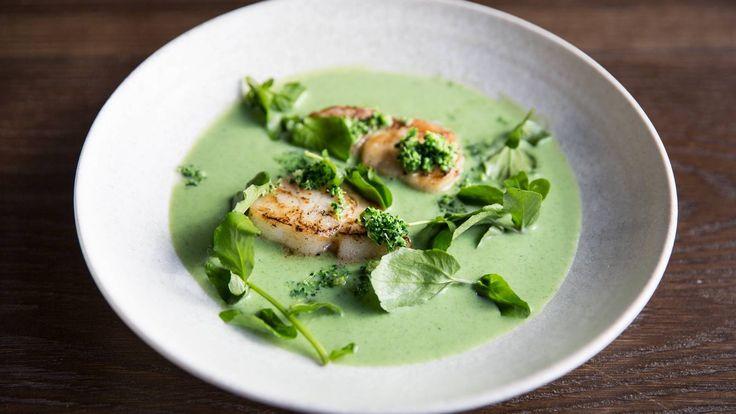 Sunn hurtigmat: mesterkokk Bjørn Svenssons oppskrift på brokkolisuppe med stekt fisk #smak
