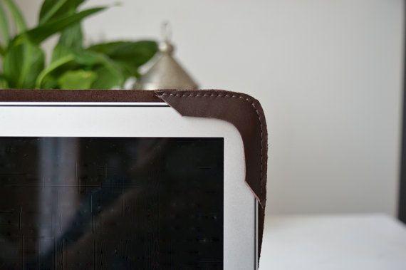 MacBook Air 13' Leather cover/ MacBook sleeve/ Macbook by NZbags