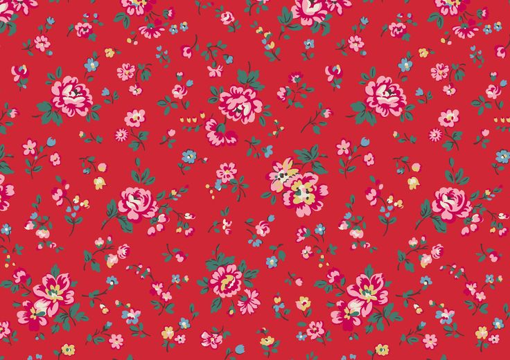 Bramley Sprig | We've revamped this traditional spriggy floral from SS14 with festive, folksy colours, and scaled it up for a fresh new look. It's the hero floral for our Christmas 2015 collection | Cath Kidston Christmas 2015 |
