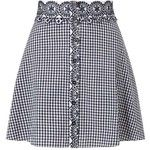 Miss Selfridge PETITE Gingham Skirt