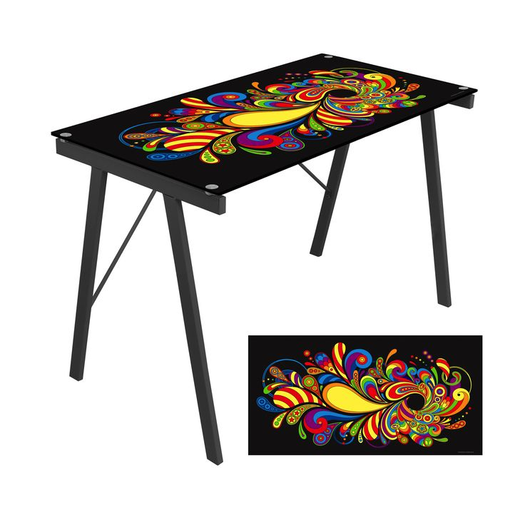 Lumisource Graphic Top Exponent Desk – Modish Store