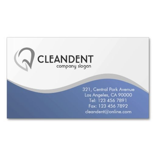 Dental - Business Cards. This great business card design is available for customization. All text style, colors, sizes can be modified to fit your needs. Just click the image to learn more!