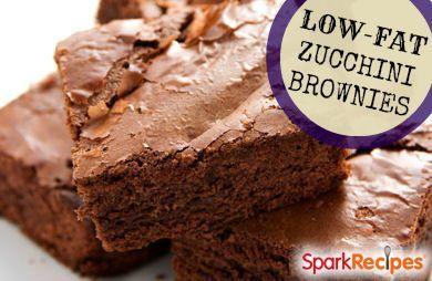 low fat zucchini brownie Recipe