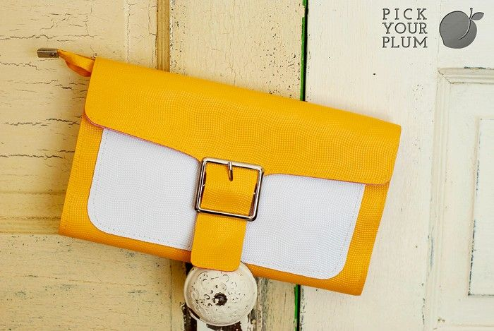 Buckle Clutch--Have to give this style a try