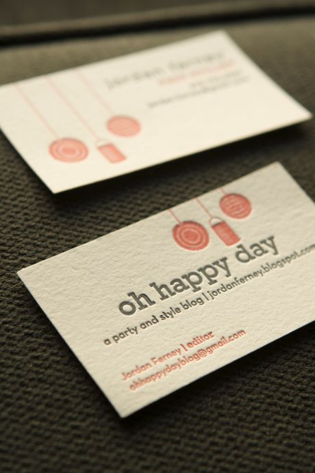 137 best business cards letterpressed or debossed images on classes at oh happy day including letterpress and screen printing reheart Choice Image