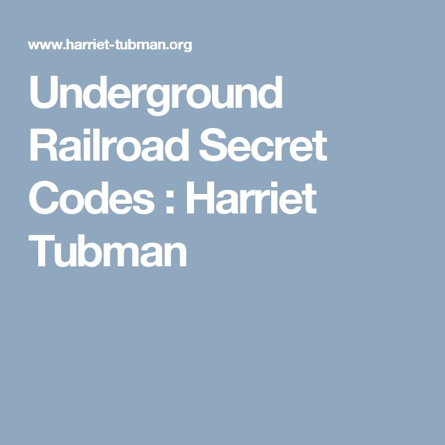A history of the contribution of hariet tubman to the success of the underground railroad