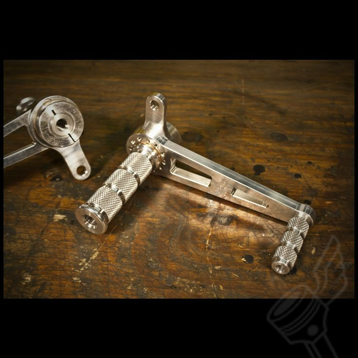 """The DCC Originals """"Fully Indexable"""" Universal Cafe Racer Rearsets 