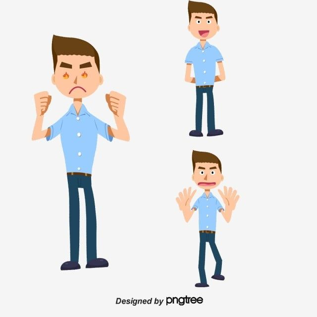 Angry Vector Character Character Clipart Business People Cartoon Characters Png Transparent Clipart Image And Psd File For Free Download Vector Character People Illustration Cartoon Posters